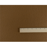 *1 YD PC--Camel Brown Wool Brushed Coating