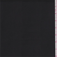 *3 5/8 YD PC--Black Fleece Backed Pleather