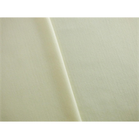 *2 3/8 YD PC--Cream Wool Blend Crepe Suiting