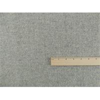 *1 1/3 YD PC--Cloud Gray Wool Brushed Herringbone Jacketing