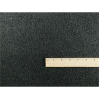*1 YD PC--Charcoal Grey Wool Brushed Jacketing