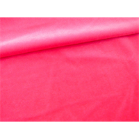 *2 3/8 YD PC--Neon Pink Stretch Velvet