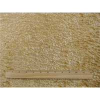 *1 YD PC--Gold Beige Chunky Faux Fur Home Decorating Fabric