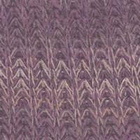 *4 5/8 YD PC--Purple Multi Crochet Sweater Knit