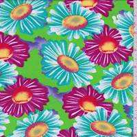 Bright Lime Daisy Pop Challis