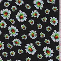 Black Tossed Daisy Challis