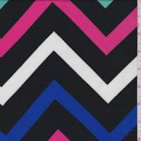 Black Chevron Challis