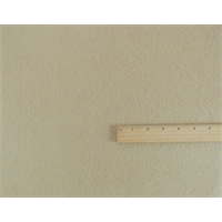 *2 YD PC--Ivory Wool Brushed Twill Coating