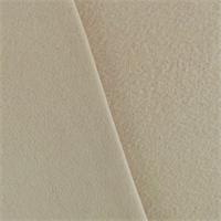 *2 YD PC--Ivory Wool Brushed Twill Coating