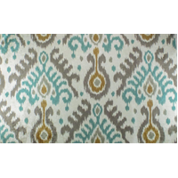 *2 YD PC--Multi P Kaufmann Ikat Print Chenille Home Decorating Fabric