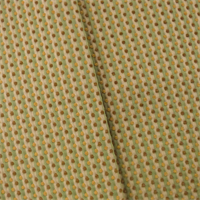 *4 1/2 YD PC--Green/Multi Dotted Chenille Stripe Home Decorating Fabric