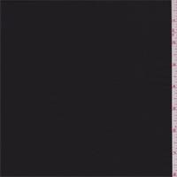 *3 YD PC--Deep Black Satin Chiffon