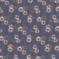 *4 PANELS--Navy Blue Silk Panels
