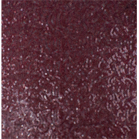 *1 5/8 YD PC--Ruby Red Sequin Mesh