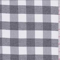 Optic White/Black Glen Plaid Check Flannel