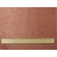 *8 YD PC--Rose Pink Chenille Upholstery Fabric