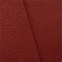 *4 YD PC--Crimson Red Wavy Rib Home Decorating Fabric