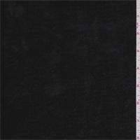 *1 3/8 YD PC--Black Suede Back Faux Fur
