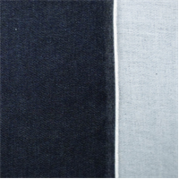 *3 1/4 YD PC--Navy Blue Cotton Stretch Denim
