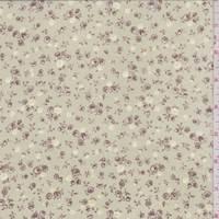 Soft Sage Ditsy Floral Georgette
