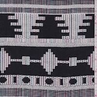 Black/White Multi Southwest Tapestry