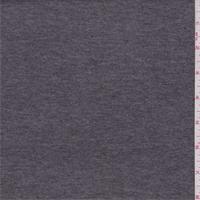 *4 1/2 YD PC--Heather Charcoal Cotton Blend T-Shirt Knit