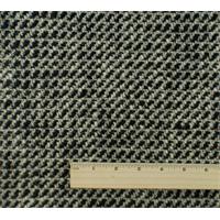 *1 YD PC--Ivory/Black Wool Sparkle Coating
