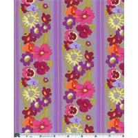 *2 3/8 YD PC--Dusty Purple Nel Whatmore Garden Window Box Print Cotton
