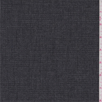 *3 1/3 YD PC--Black/Grey Heather Textured Suiting