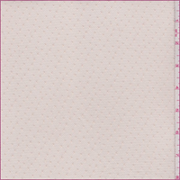 *4 1/2 YD PC--Soft Peach Dot Polyester Stretch Mesh