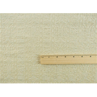 *3 1/8 YD PC--Cream White Wool Blend Jacquard Chenille Jacketing