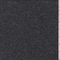 *1 3/4 YD PC--Charcoal Grey Wool Fleece