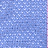 Baby Blue Lattice Lace