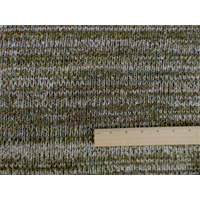 *1 1/4 YD PC--Multi Wool Blend Sweater Knit