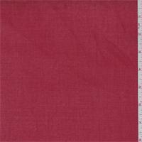 *2 1/2 YD PC--Orange Red Cotton Twill