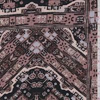 Mauve Burlwood Tile Jersey Knit