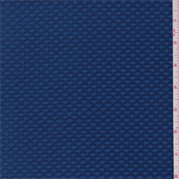 *2 3/4 YD PC--Peacock Blue Textured Knit