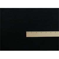 *3 5/8 YD PC--Black Wool Double Weave Crepe Momie