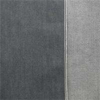 *3 YD PC--Slate Gray Cotton Slub Japanese Selvedge Denim