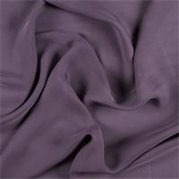 *1 1/2 YD PC--Aubergine Silk Double Georgette