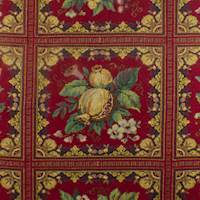 Red/Multi Floral Tapestry Home Decorating Fabric