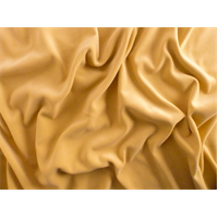 *6 1/2 YD PC--Biscotti Yellow Velveteen Home Decorating Fabric