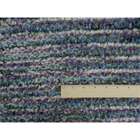 *1 1/2 YD PC--Multi Wool Blend Novelty Textured Sweater Knit