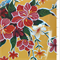 Yellow Hibiscus Oilcloth Roll