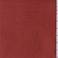*1 3/4 YD PC--Red Orange Polyester Fleece