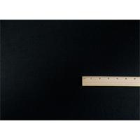 *1 5/8 YD PC--Black Wool Gabardine Suiting