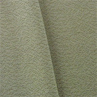 *6 YD PC--Green/Ivory JR Scott Wool Crepe Home Decorating Fabric