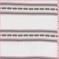 *2 3/8 YD PC--Ivory Southwestern Rayon Shirting