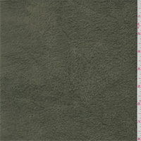*2 7/8 YD PC--Army Green Polyester Fleece