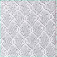 White Ogee Crochet Lace